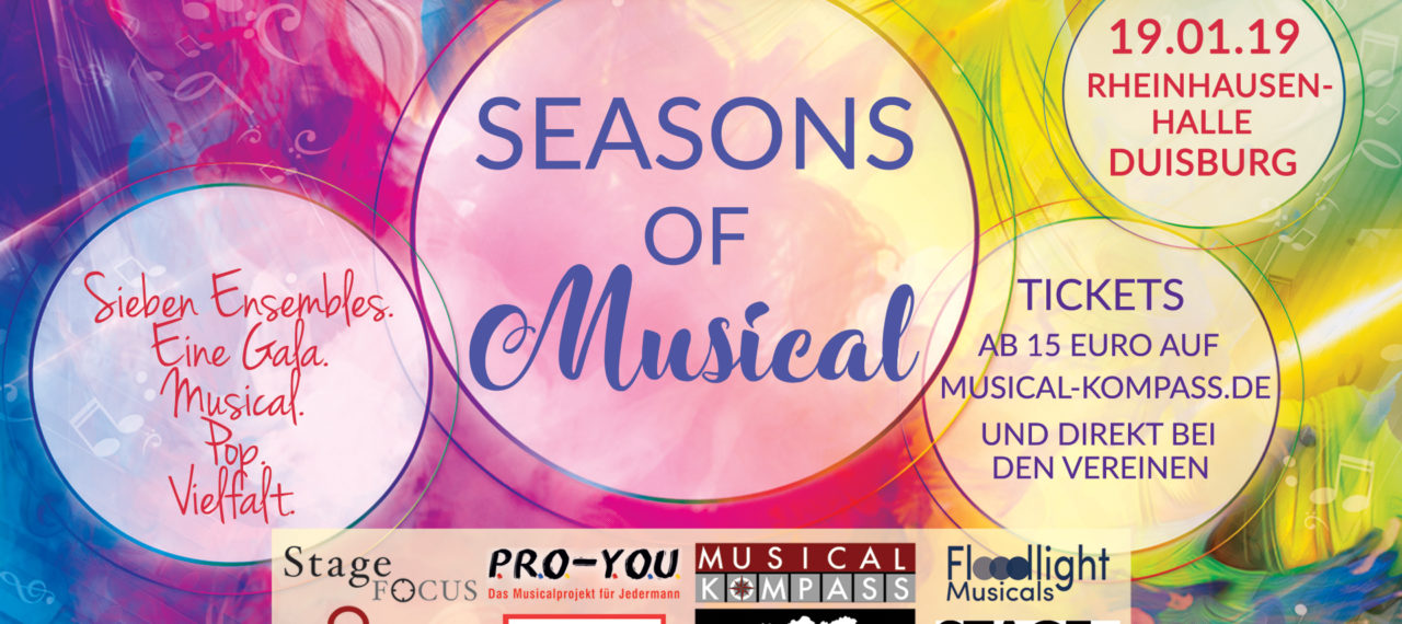 SEASONS OF MUSICAL - wir sind dabei!